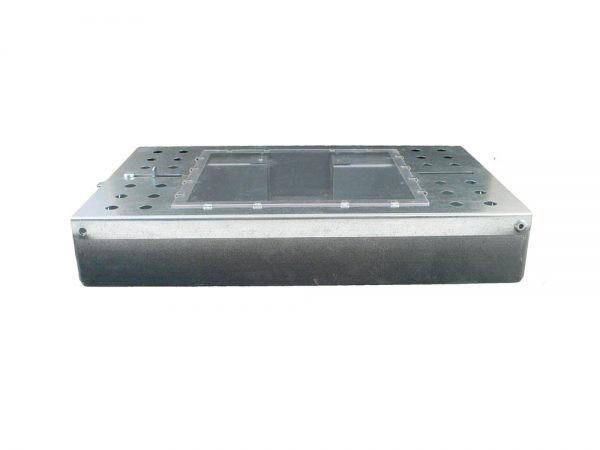 Chwytacz metalowy na myszy z szybką (podwójny)-3010